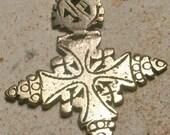 RESERVED FOR TUERE Vintage Ethiopian Cross Pendant - Coptic Cross - unisex