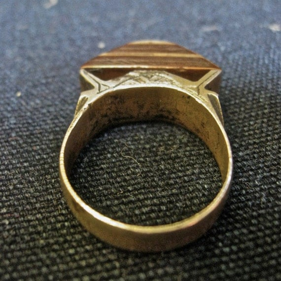 Vintage Tuareg Tribal Ring- size 7.5