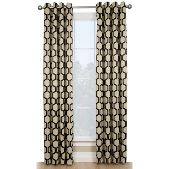 Sale Sale Sale 84 Trellis Lattice Geometric Curtain By Pillowmart