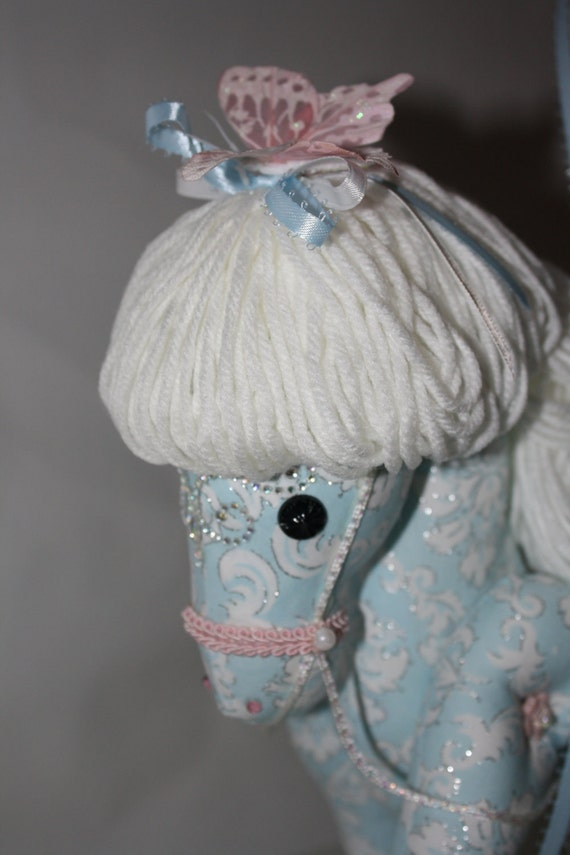 Spring The Playful Pastel Carousel Horse