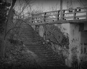 Staircase Street Photography Michigan
