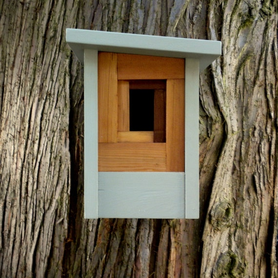 Birdhouse, modern craftsman- The Camera Shutter