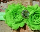 CLEARANCE SALE 50% OFF Shabby Chic Collection- Baby girl to adult size flower headbands