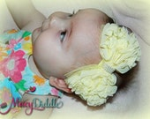 CLEARANCE SALE 50% OFF - Ready to Ship today- Baby girl to Adult size flower headbands, bows, & clips