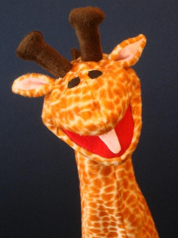 Creatures Inspired - David the Giraffe Hand Puppet