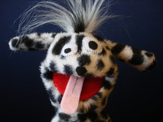 Creatures Inspired - Frank the Dalmatian Hand Puppet