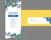 Summer Bridal Shower Invitation