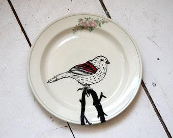 Dish / Plate - Hey little bird