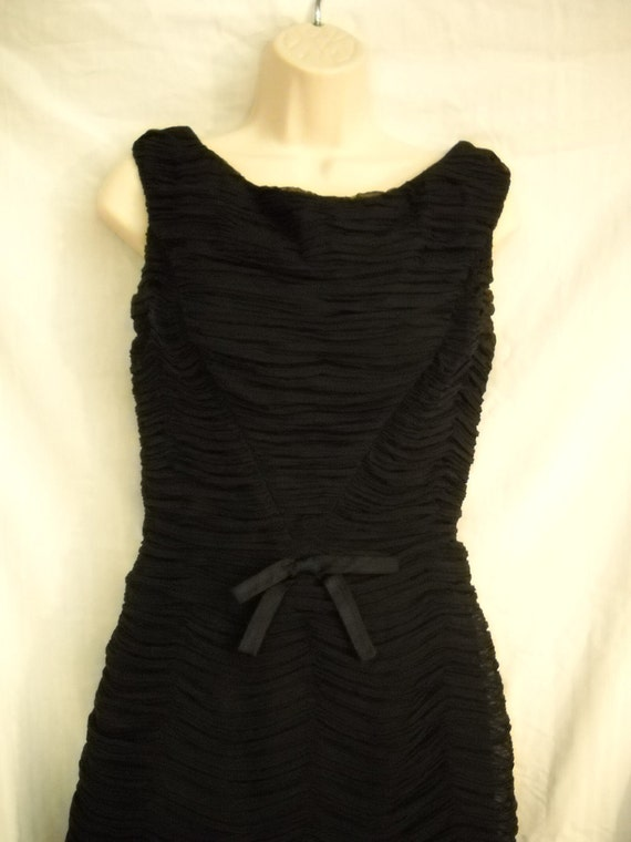 "Little Black Dress 1950's Vintage ""Original by Rudolf"""