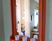 1210 Hall Mirror with Shelf