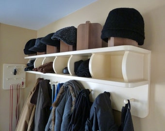 1203 Coat Rack With Cubbies