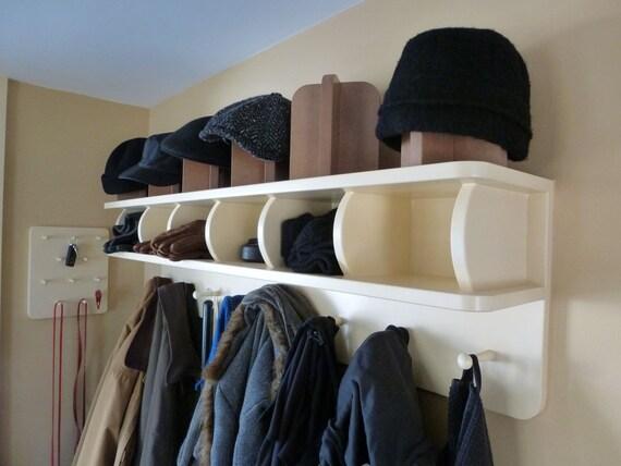 1203 Coat Rack With Cubbies