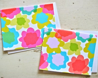 Tissue Paper Blank Notecards - 1 Design - Set of 8 - Personalization Available
