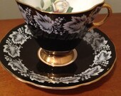 Clarence Bone China Vintage Tea Cup- England