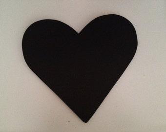 Wood Chalkboard Heart