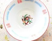 Vintage Japanese / Chinese Ramen Bowl (Double Happiness Wedding)