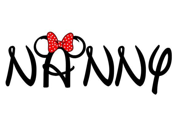 Disney Minnie-ized Nana or Nanny Custom by ...