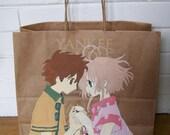 Anime Manga Gift Swag All Purpose Bag Tsubasa Reservoir Chronicle Syaoran Sakura Feather