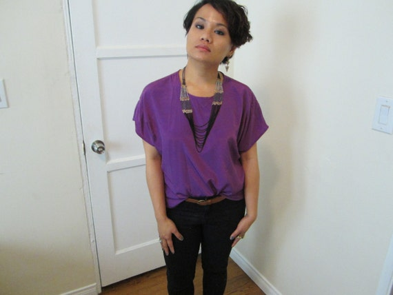 Purple Blouse from The House of Roses