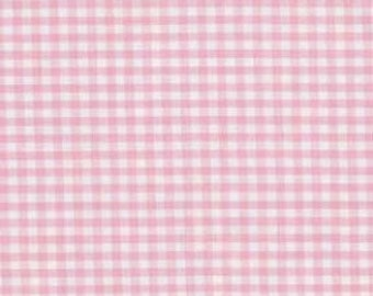 "1/8"" Pink & White Gingham Check"