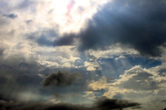Sky Photograph Instant Download Photography sunny day cloud sunshine sky wall art