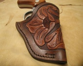 Custom Hand carved Holster for Smith and Wesson J Frame or similar Small Revolver