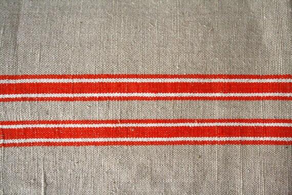 SALE- 25% OFF Lovely European antique linen tablecloth