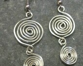 Silver Shape Earrings