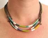 Ethnic tribal - Pendant Necklace - Statement Necklace (3 pieces). Bib necklace - DIY jewelry - Jewelry Handmade