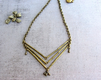 Chocker necklace - Geometric Statement Jewelry - Trend Jewelry