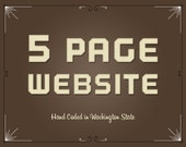 5 Page Custom Website