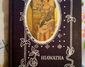 Antique Book- The Song of Hiawatha by Henry Wadsworth Longfellow, Minnehaha Edition, Copyright 1898