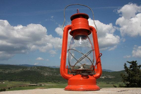 Vintage German Hurricane lamp