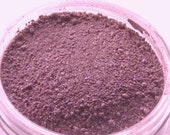 65% OFF SALE - Vegan Mineral Blush - Powerful Plum - Handcrafted Mineral Makeup, Natural, Sample