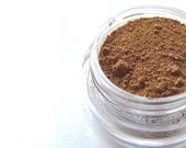 65% OFF SALE - Mineral Makeup Eye Shadow - Nutmeg - Vegan Makeup, Hand Crafted - Sample Jar