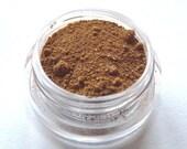 Vegan Mineral Foundation - Nutmeg Spice - Natural Makeup - Hand Crafted - Large