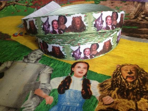 "3 YARDS - Wizard Of Oz Grosgrain Ribbon 1"""