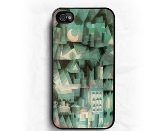 Paul Klee Dream City iPhone Hard Case / Fits iPhone 4, 4s