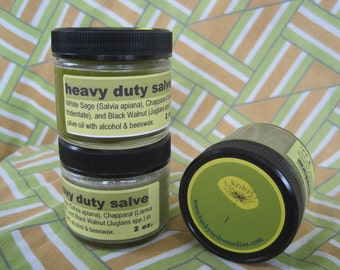 Heavy Duty Salve - Antimicrobial, antiseptic, fights infection - 2 oz., like magic