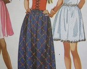 1950's SIMPLICITY PATTERN  for Misses DRESS in two lengths, and head scarf