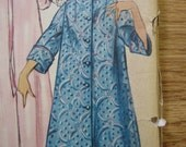 1950's SIMPLICITY PATTERN  for Misses Duster, Negligee and HOUSECOAT