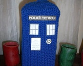 TARDIS Tissue Box Cover - marezedotes