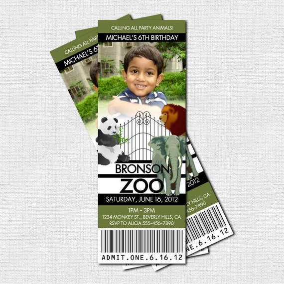 Zoo Birthday Invitations is one of our best ideas you might choose for invitation design