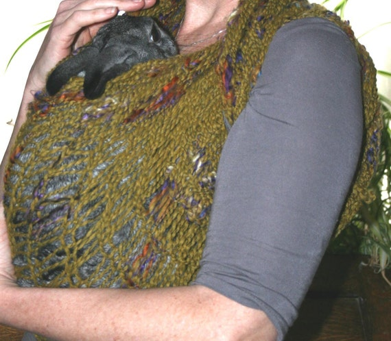 Bunny Sling for sick or disabled rabbits
