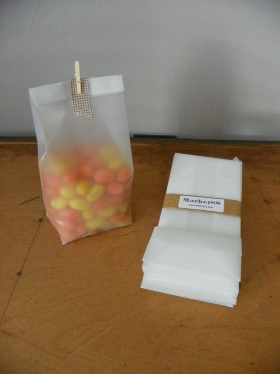Easter Treat Small Opaque Gift Bags 25