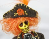 Pirate Zombie Art Doll Handmade One of a Kind OOAK