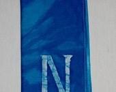 12-Single Initial Batik Napkins