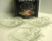 Vintage Shrimp Cocktail Set, 8 Piece, by Essentials