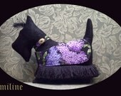 "Black Scottie Royal Companion Silhouette PIllow - This ones name is Emmiline ""Emmi"""