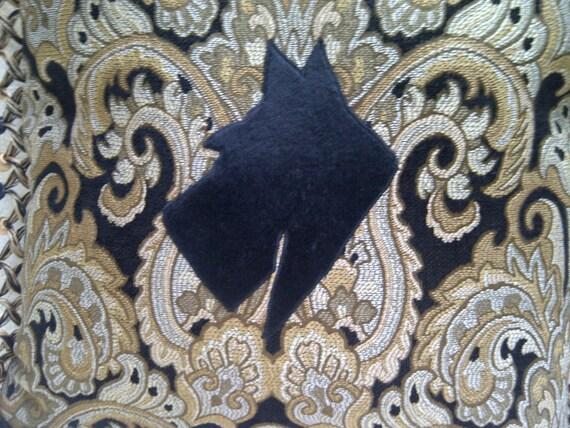 Black Scottie Royal Companion Accent Pillow